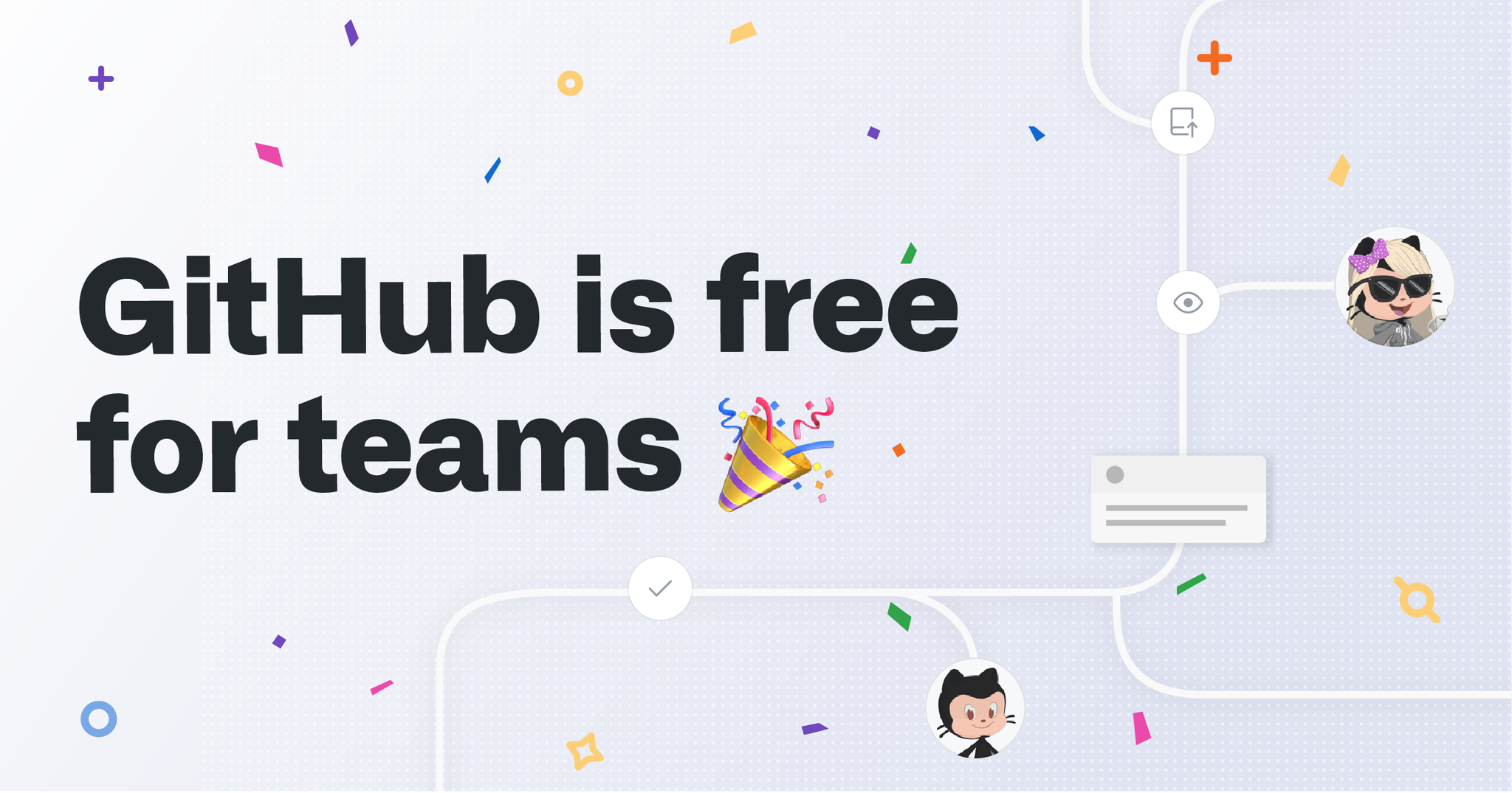 Good news for Github users